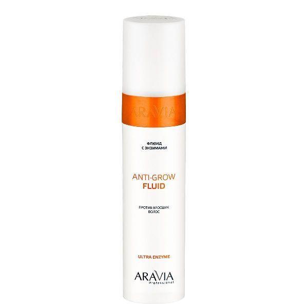Купить Aravia Флюид с энзимами против вросших волос Anti-Grow Fluid 250мл, Aravia Professional
