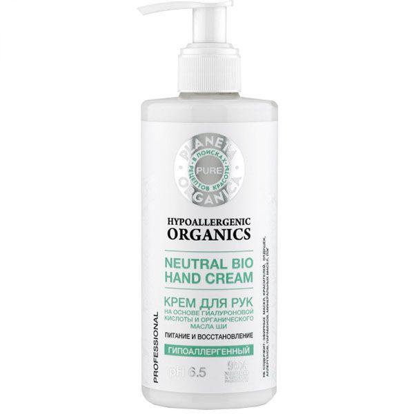 Купить Планета органика Pure Крем для рук Питание и восстановление pH6.5 гипоаллергенный 300мл, Planeta Organica