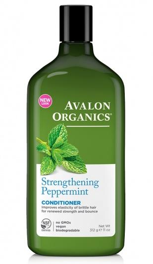 Avalon Organics Укрепляющий Кондиционер с маслом мяты Peppermint Strengthening Conditioner 312г фото