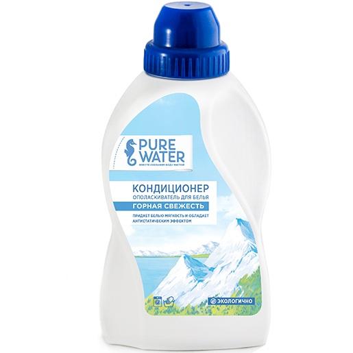 Pure Water Кондиционер-ополаскиватель для белья Горная свежесть 480 мл.