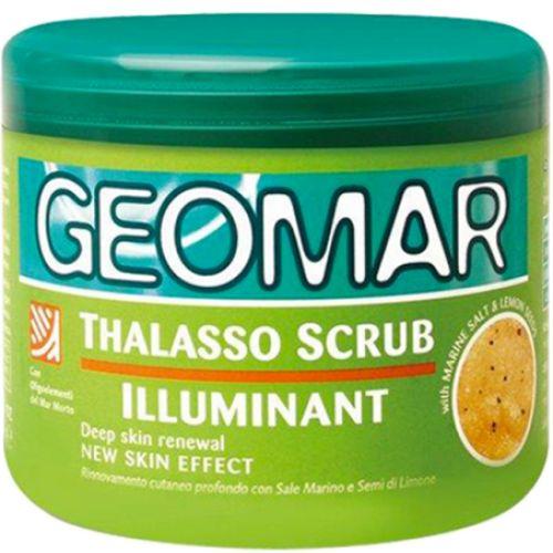 Geomar Талассо-скраб осветляющий с гранулами лимона 600 гр от Лаборатория Здоровья и Красоты