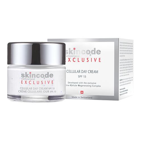 Skincode Exclusive Клеточный омолаживающий дневной крем SPF 15, 50 мл
