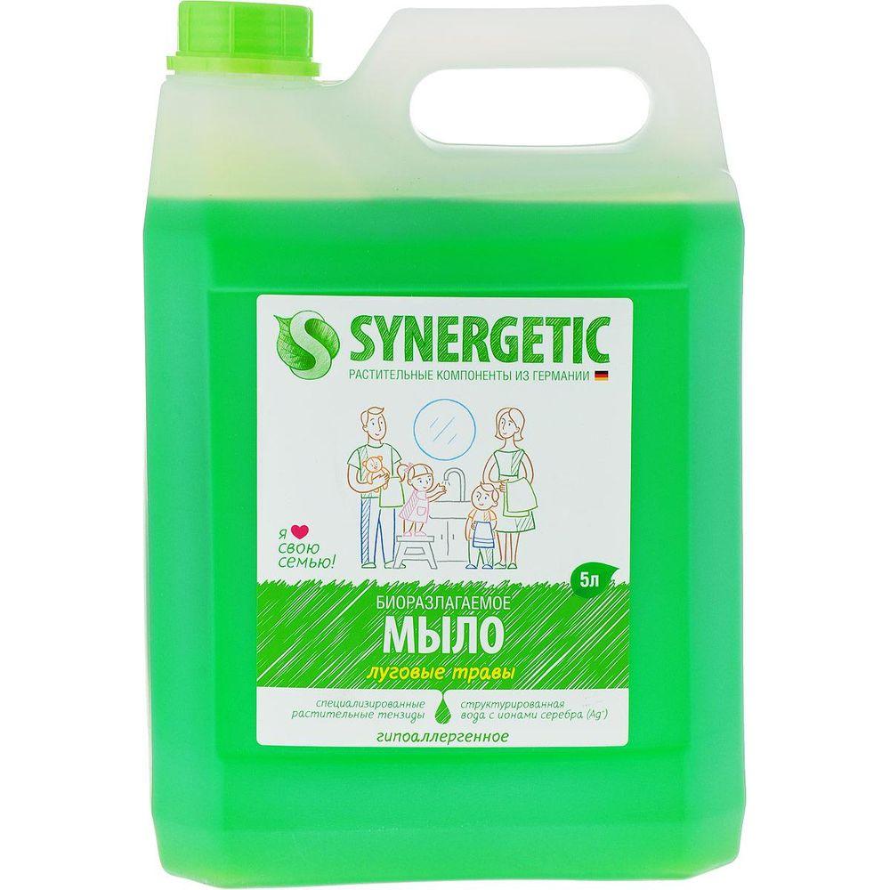 Synergetic Жидкое мыло Луговые травы 5000 мл
