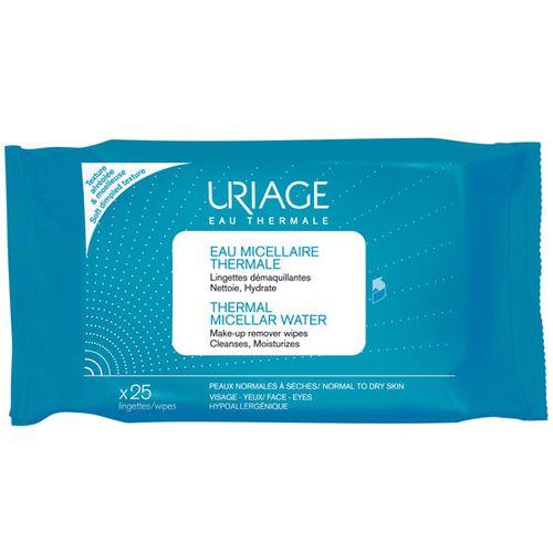 Купить Uriage (Урьяж) Салфетки с очищающей мицеллярной водой 25 шт