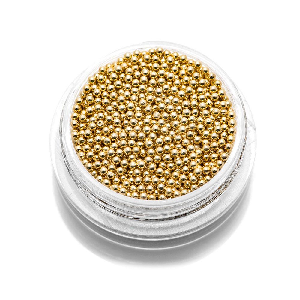 Tnl бульонки металлические - золото -