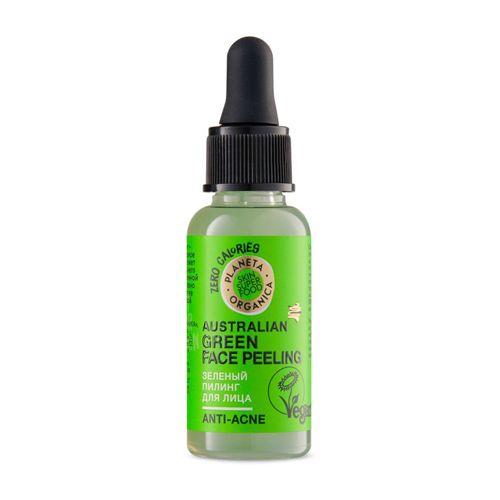 Купить Планета органика Skin Super Food Пилинг для лица Зеленый 30мл, Planeta Organica