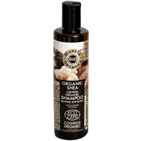 Купить Планета органика Шампунь для волос Organic shea 280 мл, Planeta Organica
