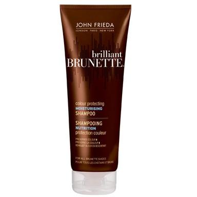 Купить John Frieda Brilliant Brunette COLOUR PROTECTING Увлажняющий шампунь для защиты цвета темных волос 250 мл