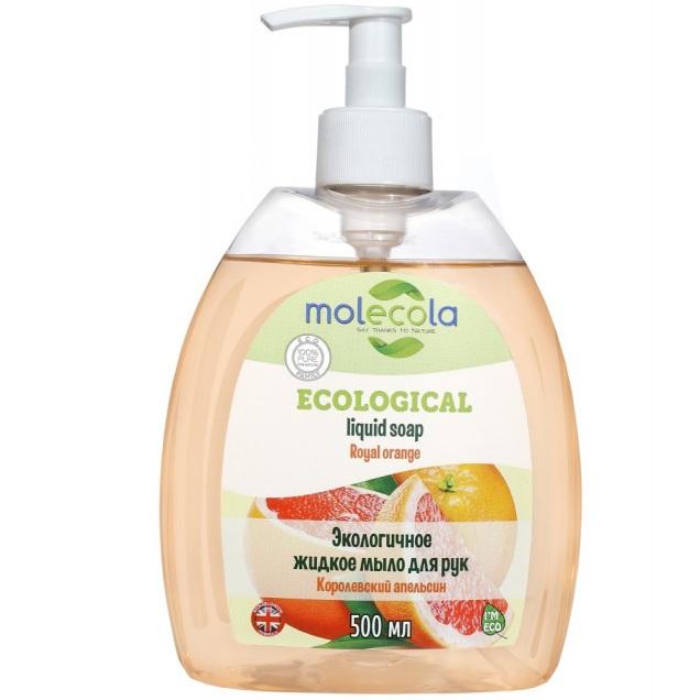 Молекола жидкое мыло Королевский Апельсин 500мл.