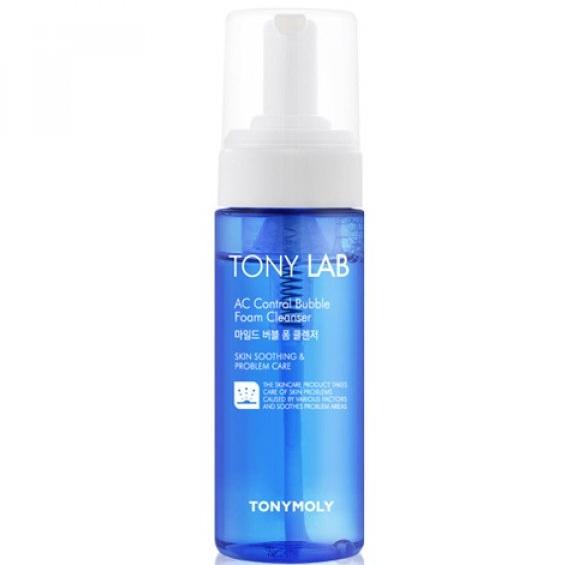 Tony Moly пенка для умывания для проблемной кожи Tony Lab AC Control Bubble Foam Cleanser 150мл