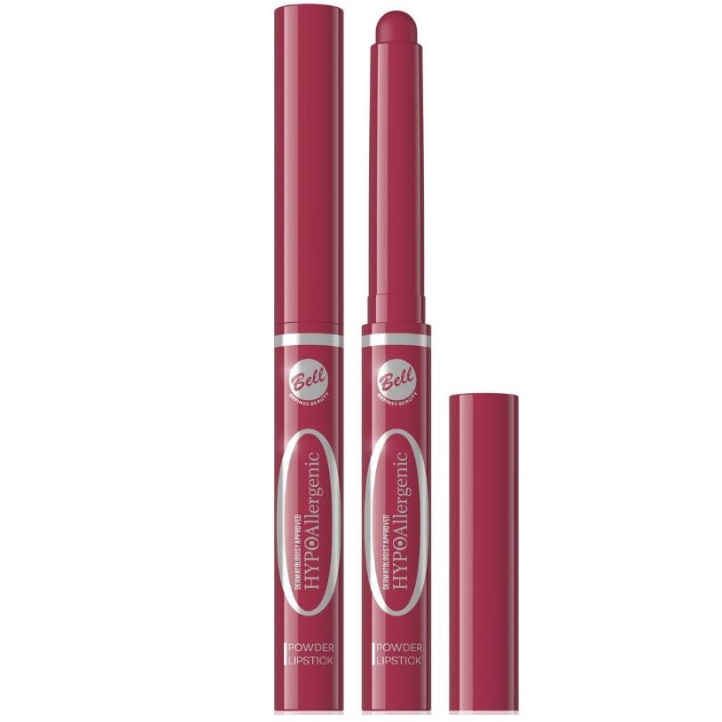 Белл (bell) hypoallergenic помада-карандаш пудровая powder lipstick 1,6г