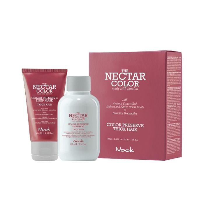 Nook Color Preserve Thick Hair Kit: Шампунь + Маска для ухода за плотными волосами