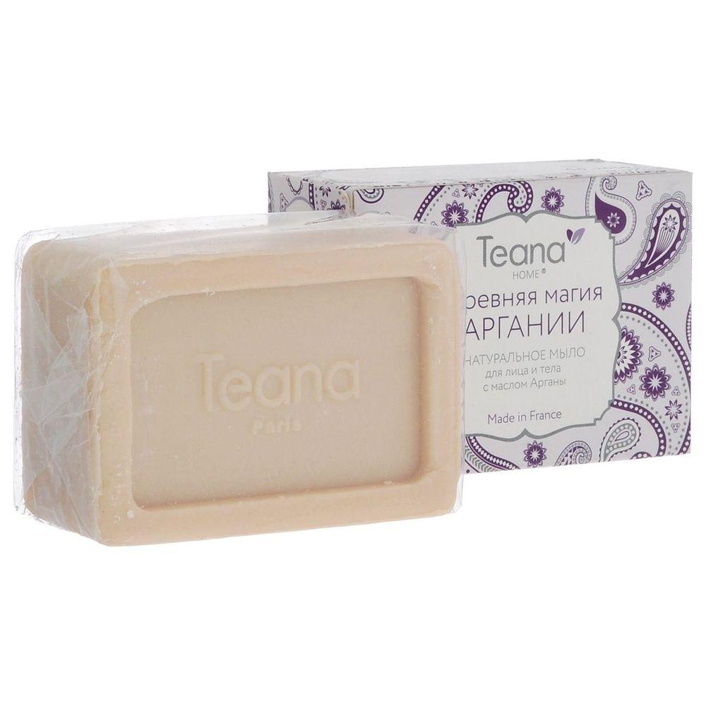 TEANA ДРЕВНЯЯ МАГИЯ АРГАНИИ Натуральное мыло для сухой и чувствительной кожи лица и тела с маслом Арганы 100 гр