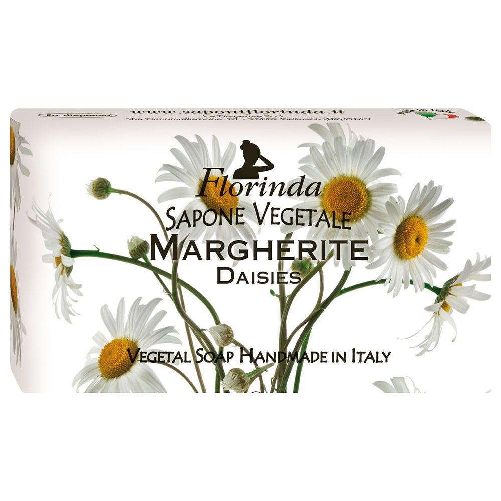 Florinda мыло Весенние цветы Margherite Ромашка 100г