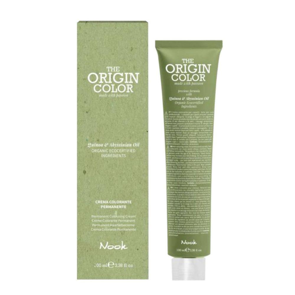 Купить Nook Краска для волос 6.71 Шоколадный Холодный Темный Блондин 100 мл