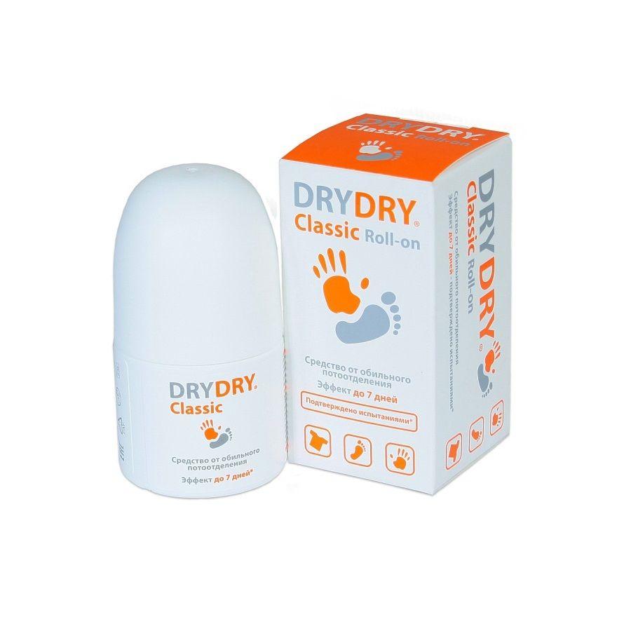 DRY-DRY Classic roll-on средство от обильного потовыделения 35мл фото