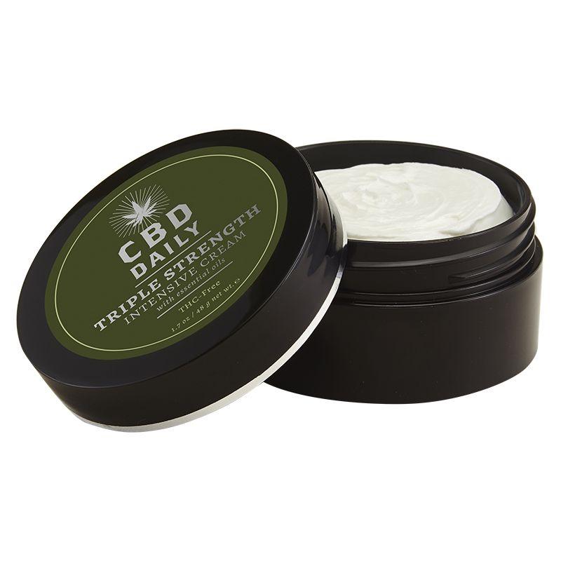 Купить CBD Daily Intensive Cream Triple Strength Интенсивный крем с Коноплей тройной интенсивности для ежедневного применения 48г