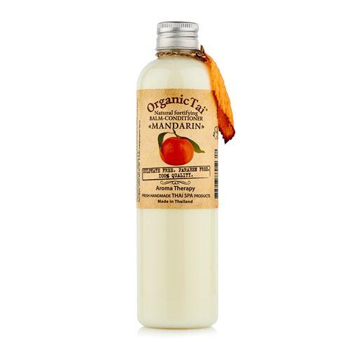 Купить OrganicTai Натуральный бальзам-кондиционер Мандарин укрепляющий 260мл