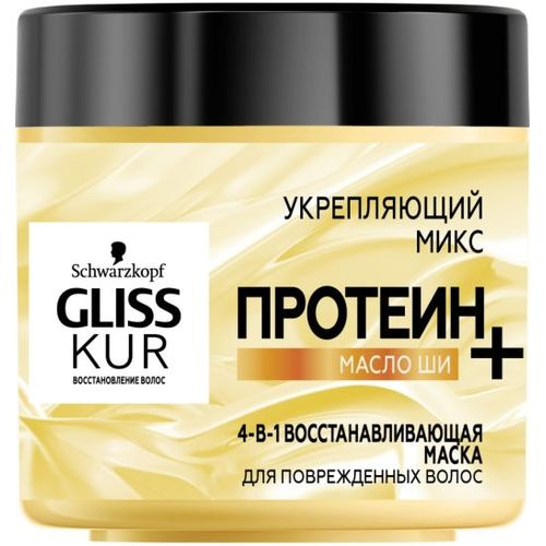 Gliss Kur Восстанавливающая маска 4-в-1 400мл