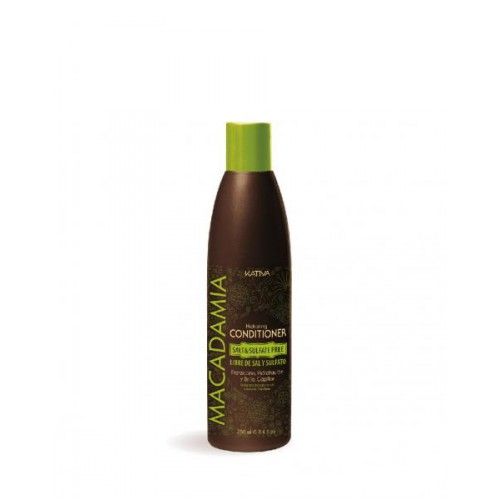 Купить Kativa Macadamia интенсивно увлажняющий кондиционер для нормальных и поврежденных волос 250мл