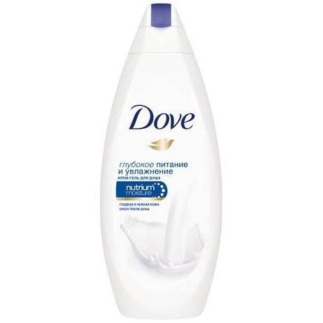 Dove крем-гель для душа глубокое питание
