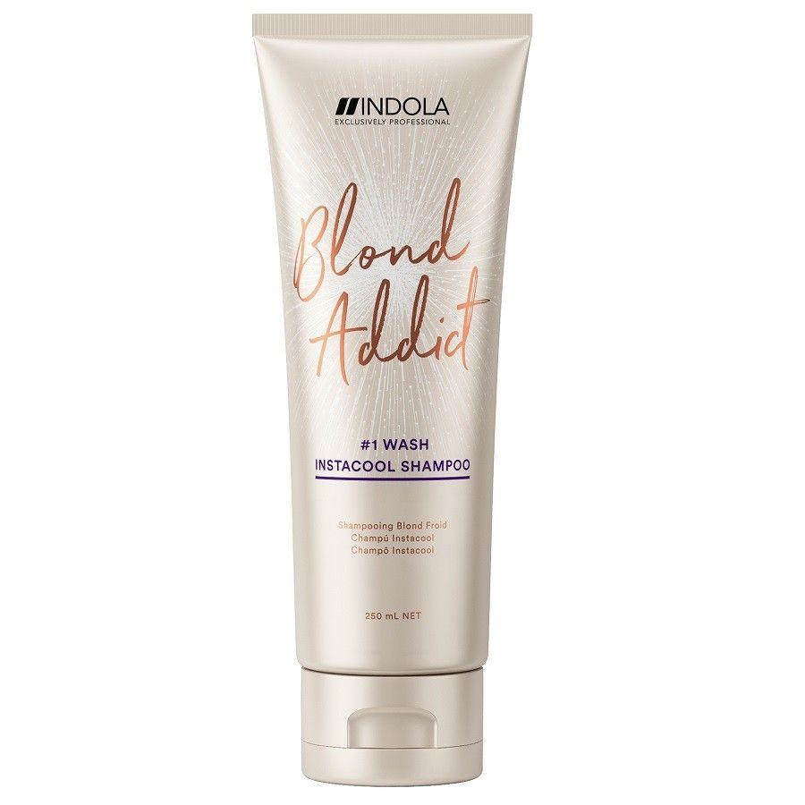Купить Indola Blond Addict Instacool Шампунь 250мл, Indola Professional