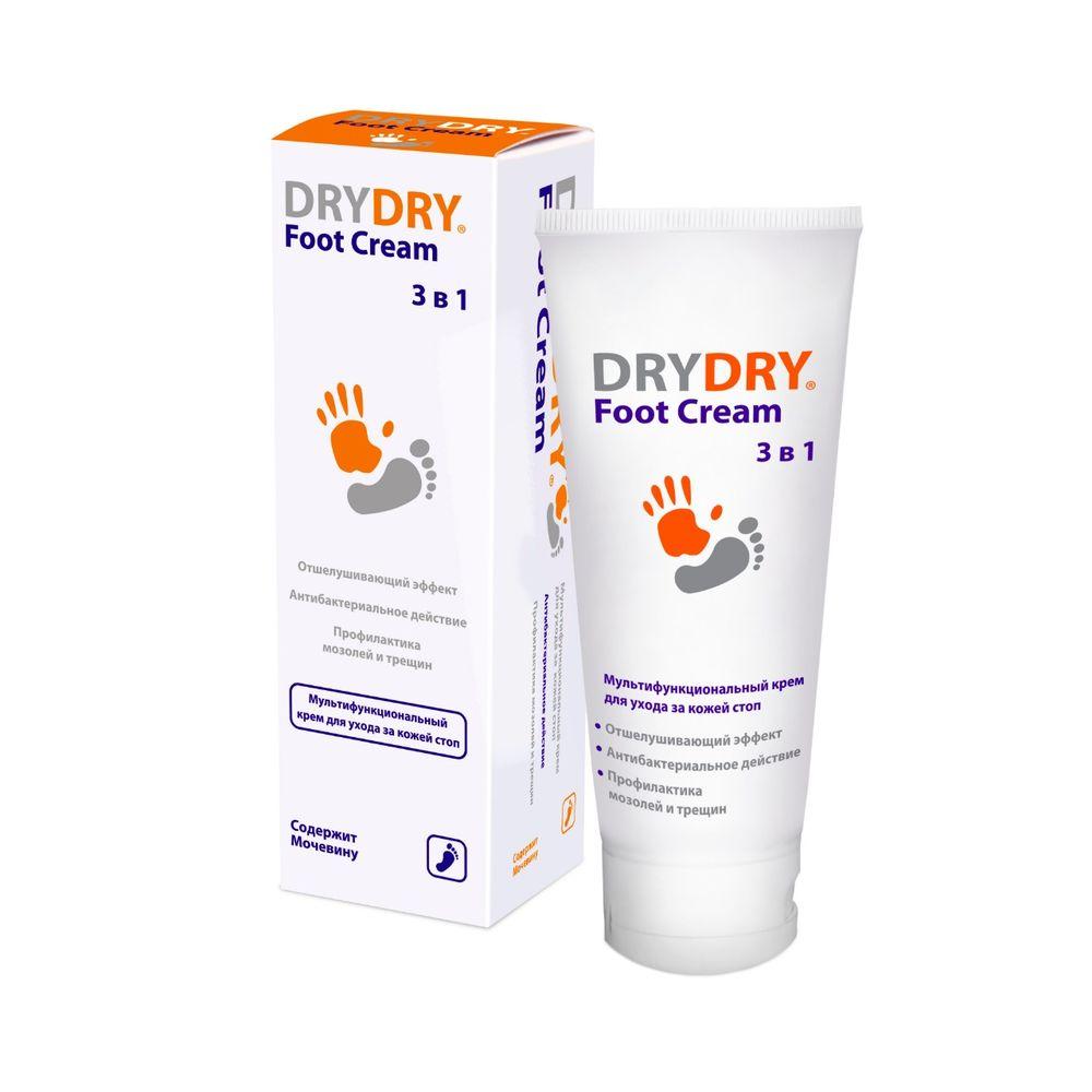 Купить Драй-Драй Фут Многофункциональный крем для ухода за кожей ног 100мл, Dry Dry