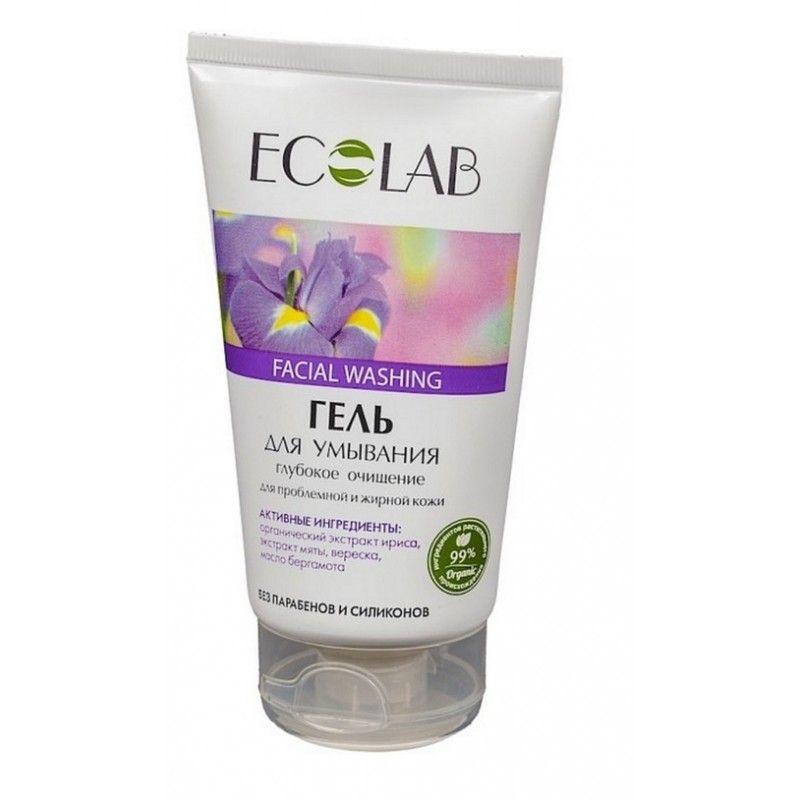 Эколаб Гель для умывания Глубокое очищение для проблемной жирной кожи 150 мл