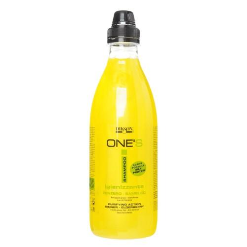 Dikson ONE'S SAMPOO IGINIZZANTE Балансирующий шампунь с октопероксом для жирных волос и против перхоти 1000 мл  - Купить