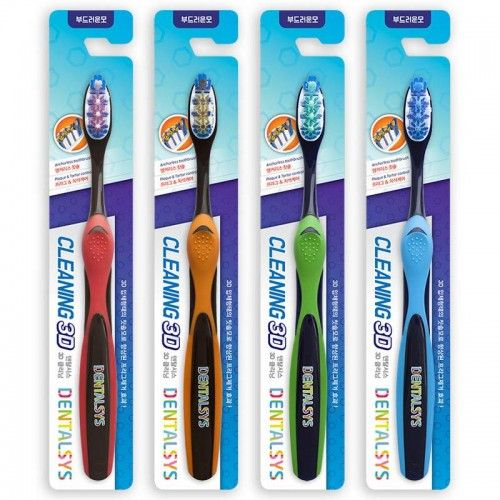 Купить KeraSys Зубная щетка DENTALSYS Очищение 3D
