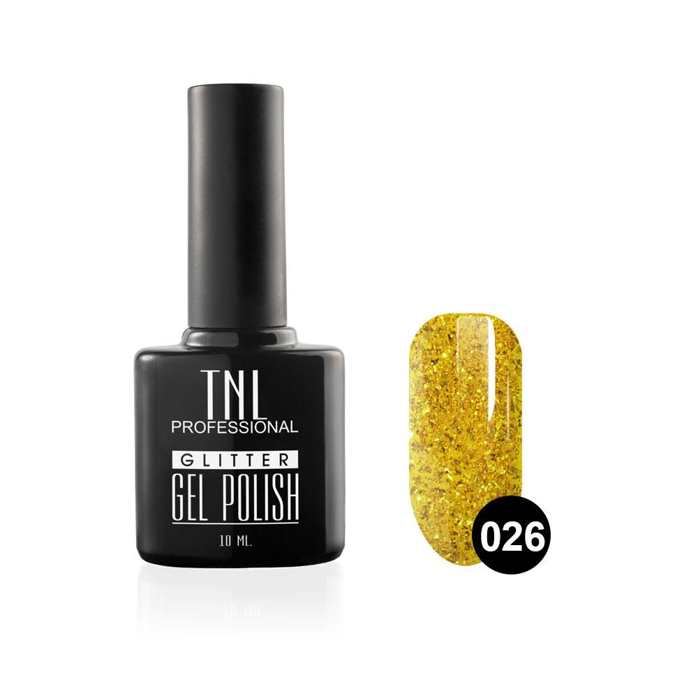 Tnl гель-лак glitter №26