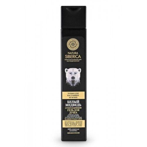 Купить Натура Сиберика Гель для душа бодрящий Белый медведь 250мл, Natura Siberica