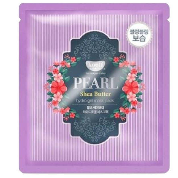 Купить Koelf Маска для лица гидрогелевая с маслом ши и жемчужной пудрой PEARL & SHEA BUTTER 1 шт.