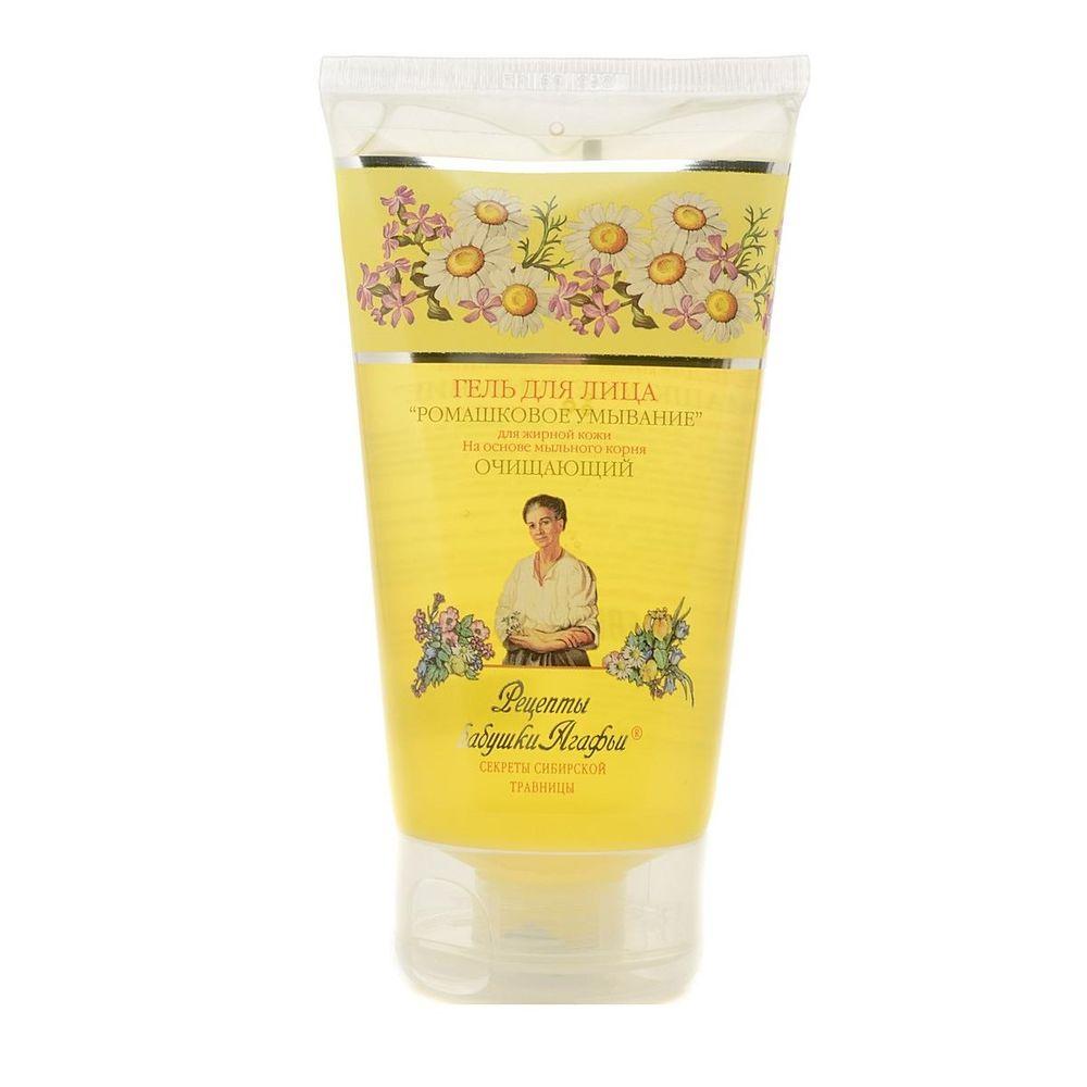Купить Рецепты Бабушки Агафьи Гель для умывания Очищающий для жирной кожи 150мл, Рецепты бабушки Агафьи