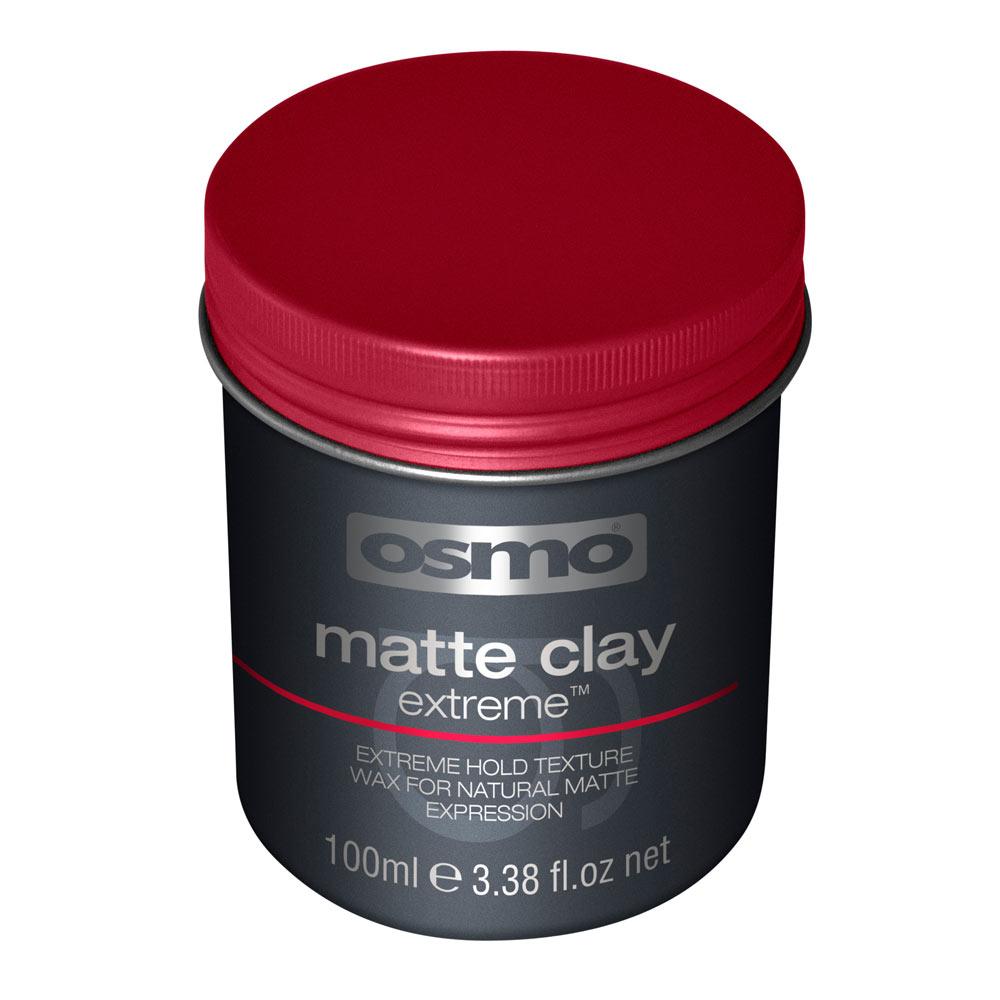 Osmo Matte Clay Extreme Глина-воск экстросильной фиксации с матовым эффектом, степень фиксации 5 100мл