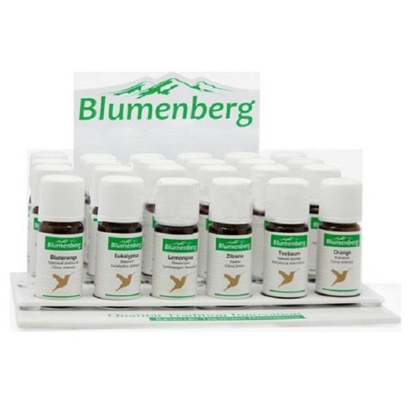 Blumenberg набор эфирных масел 18 флаконов по 10мл + 6 тестеров от Лаборатория Здоровья и Красоты