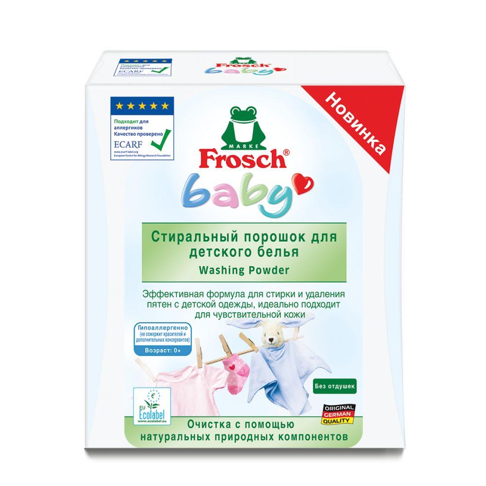 Купить Frosch Стиральный порошок для детского белья 1, 08кг