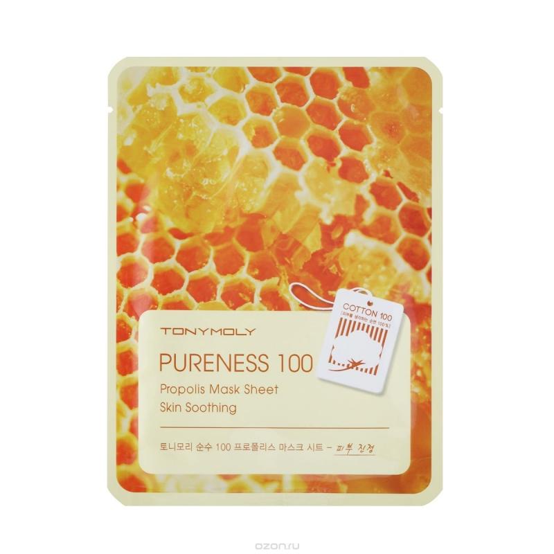 Тони Моли/Tony Moly Маска для лица Pureness 100 Propolis Mask Sheet от Лаборатория Здоровья и Красоты