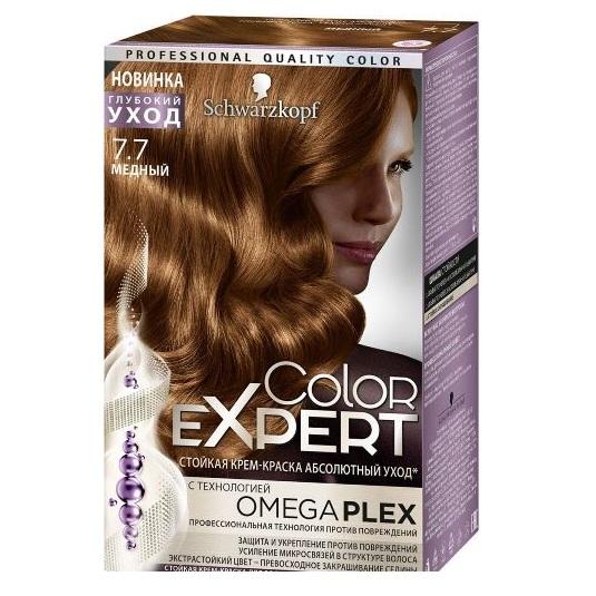 Schwarzkopf color expert краска для волос 7.7 медный