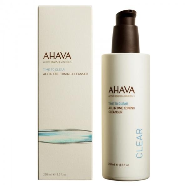 Ахава (Ahava) Time To Clear Тонизирующее очищающее средство «все в одном» 250мл