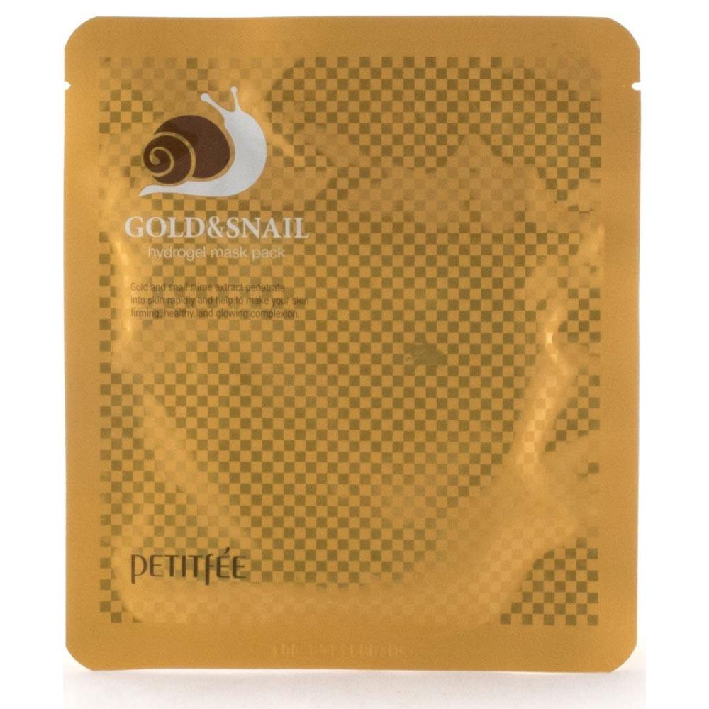 Купить Petitfee Маска для лица гидрогелевая Gold&Snail Transparent Gel Mask Pack 1 шт.