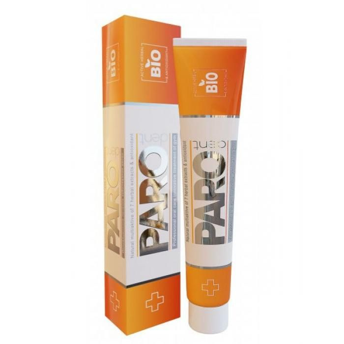 Paro Dent Bio calendula Зубная паста с антиоксидантами ранозаживляющая с 7 лет 75мл