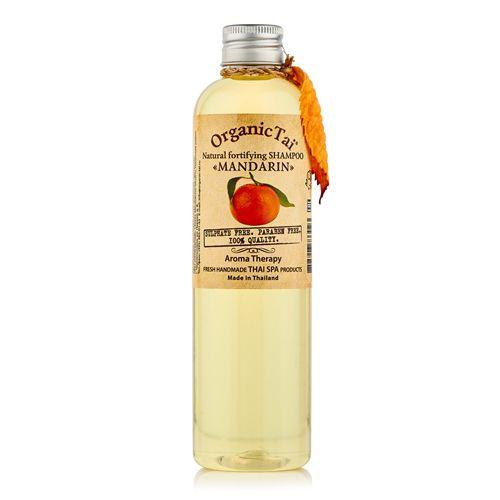 Купить OrganicTai Натуральный шампунь Мандарин укрепляющий 260мл