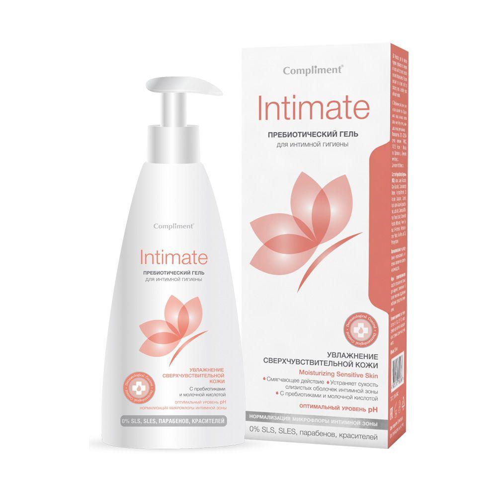 Купить Compliment Intimate Гель пребиотический для интимной гигиены 250мл