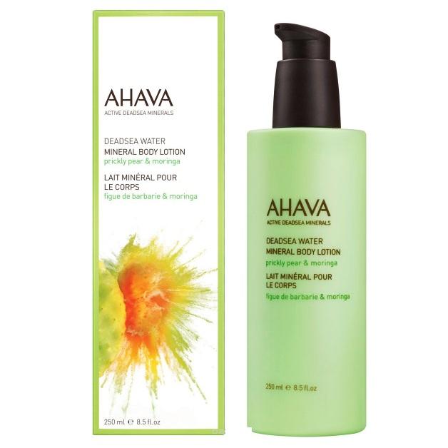 Ахава (Ahava) Deadsea Water Минеральный крем для тела опунция и моринга 250мл