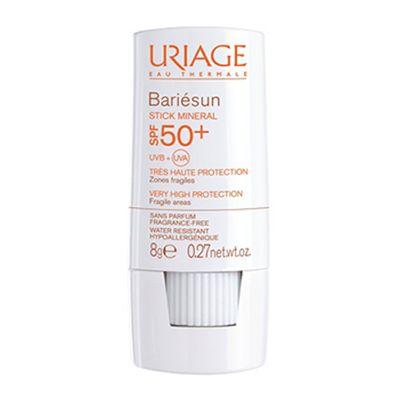 Урьяж (Uriage) Bariesun SPF50+ Минеральный стик для уязвимых зон Стик 8г