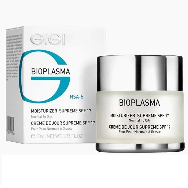 GIGI Moist Supreme SPF 17\ Крем увлажняющий для нормальной и жирной кожи с SPF 17 50 мл фото