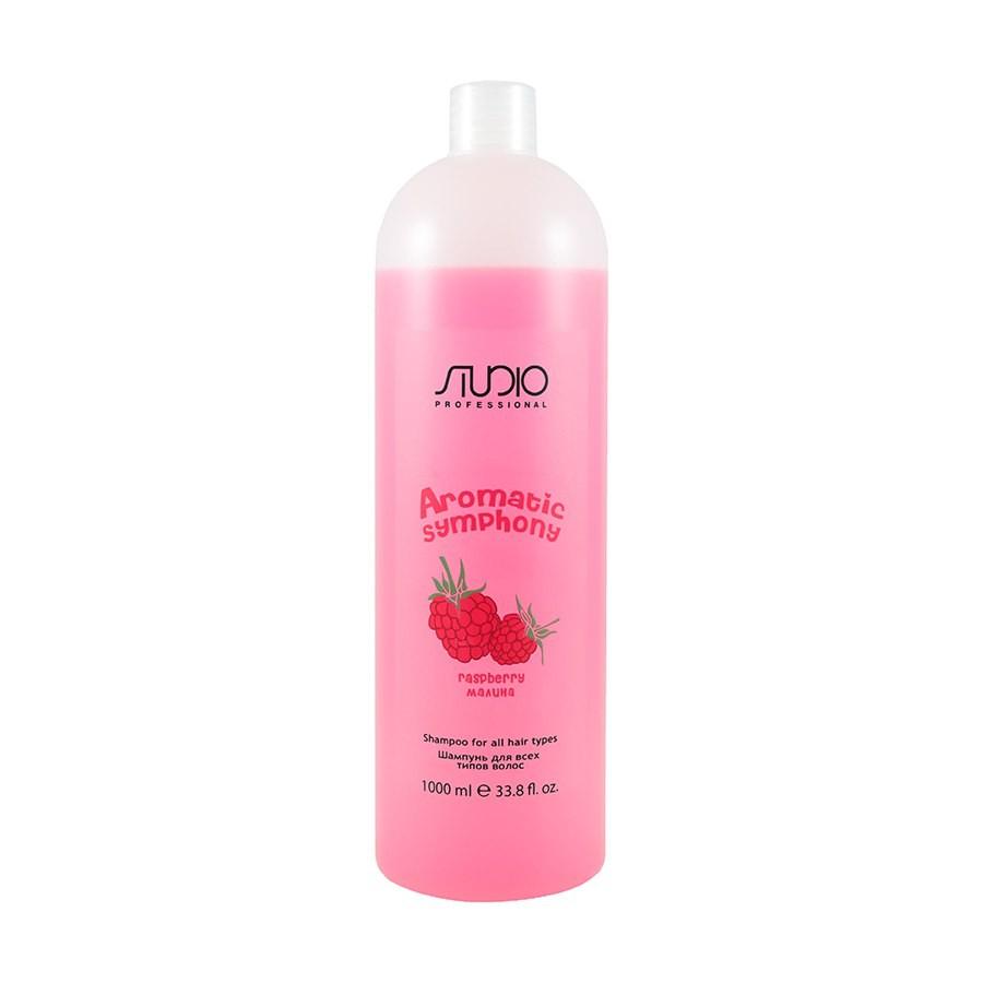 Шампунь для всех типов волос Малина 1000мл