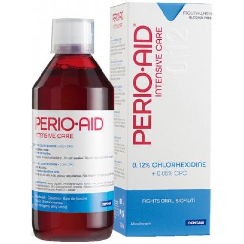 Купить Dentaid Ополаскиватель для полости рта Perio-Aid 0.12% Intensive Care с хлоргексидином, 500мл