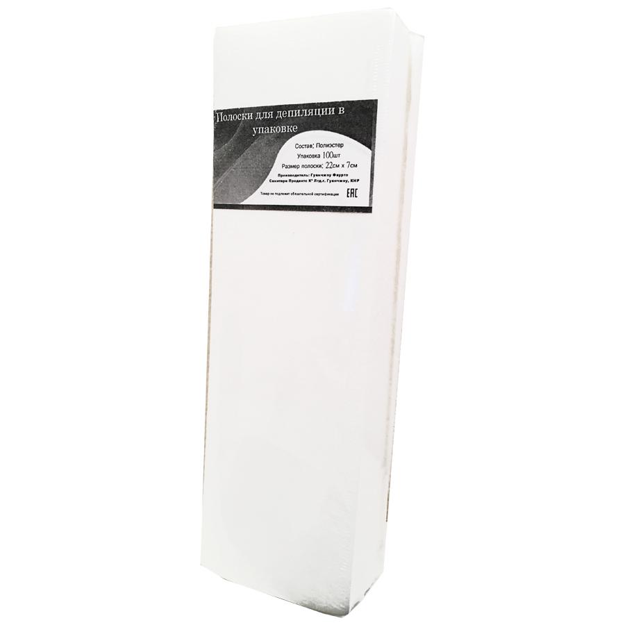 Купить Полоски для депиляции 22 см х 7 см 100 шт